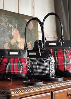 2db863a3bd6d Love these tartan bags - wish they were still available. Burberry Handbags