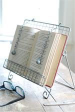 Vintage Farmhouse Cookbook Stand - for guests to write in