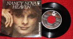 "NANCY NOVA - Heaven + I'm giving it up  - Vinyl 7"" Single - Hansa"
