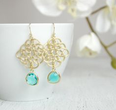 Hey, I found this really awesome Etsy listing at https://www.etsy.com/listing/237617416/gold-celtic-knot-earrings-with-blue