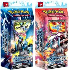 TWO (2) THEME DECKS - Pokemon Card Game Boundaries Crossed Phase 7: BLACK & WHITE KYUREM DECKS [PRESALE: SHIPS NOVEMBER 7] Pokémon