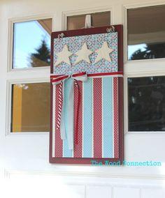 Flag Door Hang