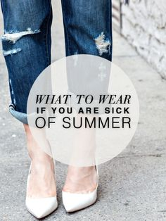 Why the frack is it 80 degrees in October!? I'm over dressing for summer