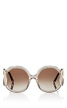 Chloe Jackson Round Sunglasses