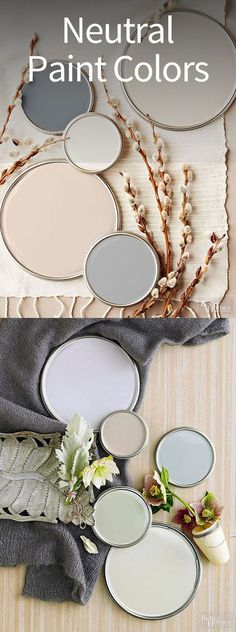 Top color scheme for home. Using neutral paint colors is one of our favorite ways to warm up a room. Picking the best neutral color scheme for your home is the first step, but we'll also show you how to decorate with gray, beige, and white decor. Home Decor Colors, Interior Paint Colors, Room Colors, Colorful Decor, House Colors, Colorful Interiors, Diy Home Decor, Interior Design, Paint Colours