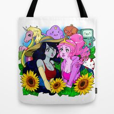 Adventure Time Tote http://society6.com/product/adventure-mra_bag?curator=littlelostforest