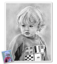 Hand Drawn Pencil Sketch from Photos - Such a sweet face! Send us your photos and we'd be happy to create a timeless sketch like this for you. Beautiful Pencil Sketches, Cool Sketches, Pencil Sketch Portrait, Pencil Drawings, Sketch Paper, Portraits From Photos, How To Draw Hands, Fine Art Prints, Norman