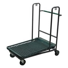 Nesting Merchandise Platform Truck by Bison. $412.65. Nesting Merchandise Platform Truck, Load Capacity 2000 lb., Overall Length 40 In., Overall Width 26-1/4 In., Overall Height 44 In., Caster Wheel Dia. 5 In., Caster Wheel Type (2) Rigid, (2) Swivel, Caster Wheel Width 2 In., Deck Type Plastic, Number of Caster Wheels 4, Deck Length 27-1/2 In., Deck Width 22-1/2 In., Deck Height 2-1/2 In., E-Coated Finish, Color Gray
