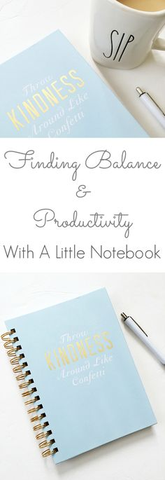 Finding Balance & Productivity With A Little Notebook - Lemons, Lavender, & Laundry I struggle with balance and time management. These ideas are so simple, yet they work! Notebook Organization, Organization Hacks, Organizing Ideas, Time Management Tips, How To Start A Blog, Getting Organized, Self Improvement, No Time For Me, Productivity