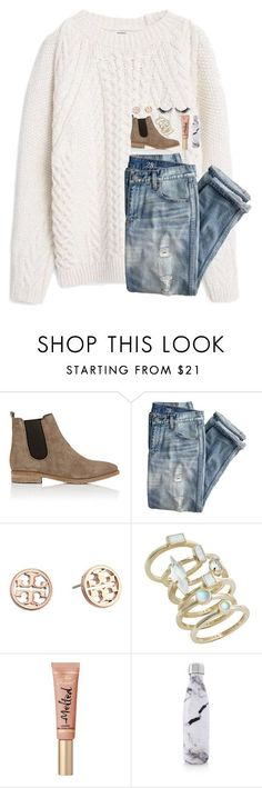 """gimme gimme that thing called love"" by lindsaygreys ❤ liked on Polyvore featuring Barneys New York, J.Crew, Tory Burch, Kendra Scott, S'well and modern"