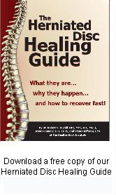 Free Herniated Disc Healing Guide  I'm good now, but just in case . . .(pin it)