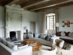 Living clássico em Paris