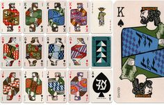 more old playing cards