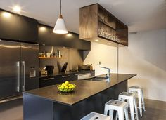 Our very own interior designer, Sam Elliot, shares the secrets to choosing appliances for the culinary workroom of your new Box™ home: Silence is golden. A 'powerpack' rangehood has the...