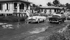 ☀Puerto Rico☀calle Tapia en Santurce 1954