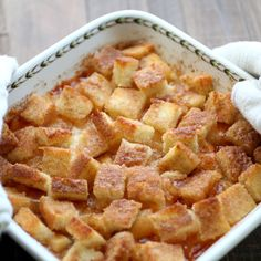 Savoury Table: Something From Nothing #4: Apple Bread and Butter Pudding