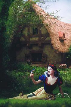 Snow White by on DeviantArt Disney Princess Art, Disney Art, Cinderella Background, Snow White Photography, Disney Adoption, Snow White Fairytale, Baby Snow White, Snow White Photos, Snow White Dresses
