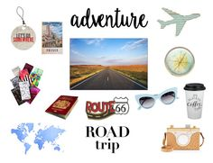 """""""Adventure."""" by fashion2religion ❤ liked on Polyvore featuring art, Summer and travel"""