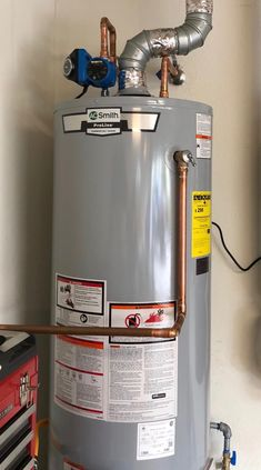 Hybrid Hot Water Heater Instead of Natural Gas Power Vent Hot Water