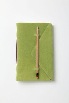 Slipped-In-Suede Journal