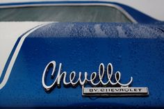 Chevelle by Chevrolet emblem