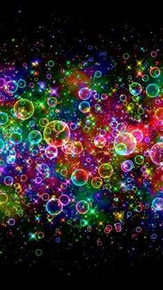 Orbs of every colour.  As we move from 3D to 5D multi-sensory perception, I do hope I will finally see the auric energy colours around us all!