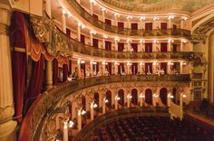 Amazonas Theatre, Brazil  © Afagundes | Dreamstime