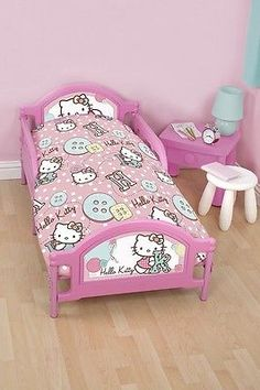 4 in 1 hello kitty #stitch junior character cot bed #bundle to fit #toddler bed,  View more on the LINK: 	http://www.zeppy.io/product/gb/2/171830173857/