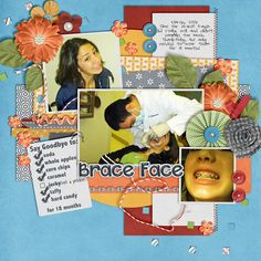 Brace Face | Memory Clips: Toothless [Bundle]; Meagan's Creations: Tuesday Template 1-22; Wendy Tunison Designs: Me and My Shadow; Font: Pea Hayley Juliet