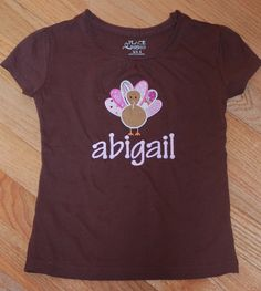 Personalized Turkey Shirt