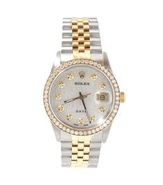 Two Tone Men's Rolex  18K  Yellow Gold Stainless Steel Watch. Get the lowest price on Two Tone Men's Rolex  18K  Yellow Gold Stainless Steel Watch and other fabulous designer clothing and accessories! Shop Tradesy now
