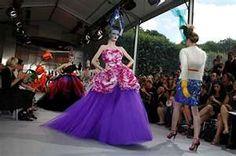 Dior Haute purple haute Couture Fall/Winter 2010 - Couture