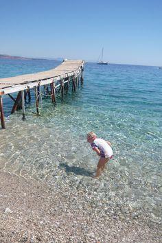 beautifull blue... Krouzeri Beach, Corfu, Greece