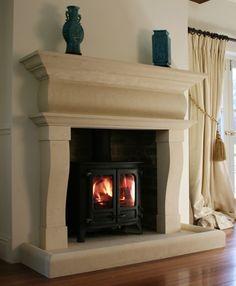cast stone hoods and limestone fireplace custom products fireplace surrounds - Stone Fireplace Surround