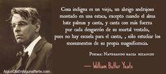 13 de junio 1865 #TalDíaComoHoy nació el poeta y escritor irlandés William Butler Yeats, Nobel #Literatura en 1923.