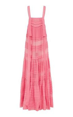 Asiri Gathered Silk Maxi Dress by Kalita Silky Dress, Chiffon Maxi Dress, Silk Chiffon, Strapless Dress, Cat Dresses, Beach Dresses, Summer Dresses, Goddess Dress, Ladies Dress Design