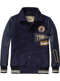Woollen Bomber Jacket