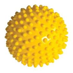 """Power Systems 80705 Myo-Therapy Ball Plus 6"""" - Yellow"""