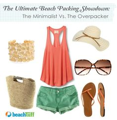 Beach Packing :: Ultimate Showdown of Minimalist Vs. Over packing.