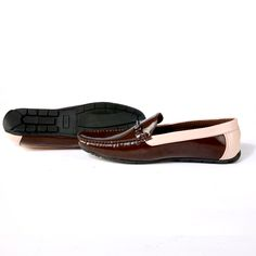 Buy Brown Driving shoe with contrast@ INR 1639/- #DrivingShoes #Moccasins #MenShoes #BrownShoes