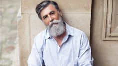 Philippe Dumas, a 60-year-old male model, is making waves on the internet for his hip style and rugged good looks.