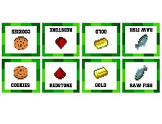 http://delicateconstruction.com/2014/08/free-minecraft-party-printables.html