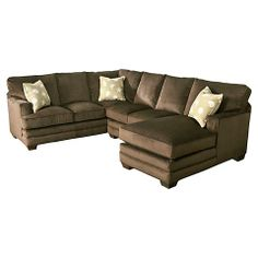 HGTV HOME Custom Upholstery Large U-Shaped Sectional #bassettfurniture #sectional