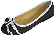 855ea740080b Amazon.com | Shoes 18 Womens Canvas Ballerina Ballet Flats Shoes | Flats