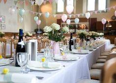 Transform a village hall for a wedding