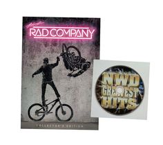 Rad Company DVD Blu Ray Combo with FREE NWD Greatest Hits DVD