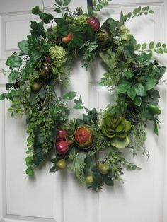 ;. although this item is no longer available, it serves as great wreath inspiration.