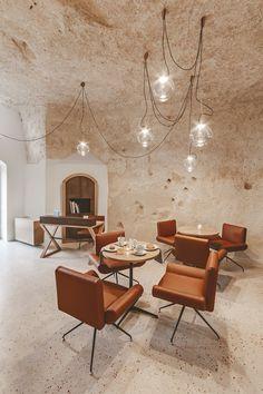 8ac31579f702 LA GUEST HOUSE NEL CUORE DEL SASSO BARISANO DI MATERA Interni Moderni,  Architettura Moderna Di