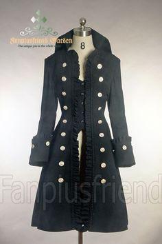 DANILA MACDONALD | Pirate Lolita/Gothic Prince/Ouji High Collar ... | My Style: clothing ...