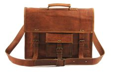 Shivam leather craft Adult Real Leather Messenger Bag For Laptop 11X15 >>> Check out this great product. (This is an Amazon Affiliate link and I receive a commission for the sales)